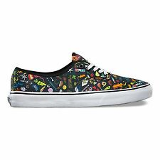 Vans Off the Wall Authentic Truth Black White Mens Shoes Size 9.5 Sk8