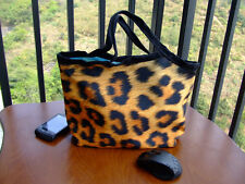 NEW LEOPARD IMAGE LUNCH TOTE SHOPPING BAG HANDBAG FOR LAYDY GIRL WOMEN KIDS HOME