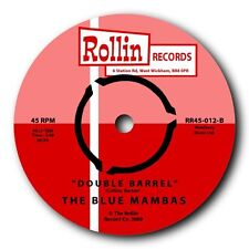 "THE BLUE MAMBAS -""DOUBLE BARREL"" FABULOUS SURF INSTRO b/w ""COMIN' HOME BABY"""