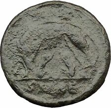 "Constantine I The Great Ancient Roman Coin Romulus & Remus ""Mother"" wolf  i32319"