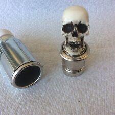 Made in USA Skull knob Car Cigarette Lighter 12v Hot Rat Street Rod shift 17-2CL