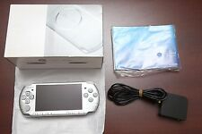 PlayStation Portable PSP-3000 Mystic Silver Console boxed Japan Import system