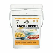 Augason Farms Emergency Food Supply Lunch & Dinner Pail NEW