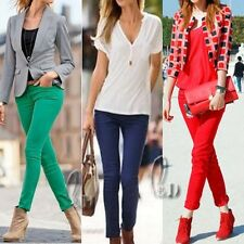 WHOLESALE BULK LOT OF 10 MIXED COLOUR SIZE Womens Skinny Jeans Pencil pants p126
