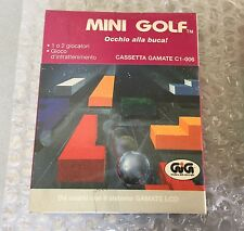 Vintage # Gamate Bit Corporation LCD GAME#MINI GOLF  #NIB