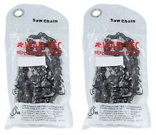"""16"""" Chainsaw Saw Chain  Pack Of 2 Chains Fits STIHL MS180 MS181 018 02 020T"""