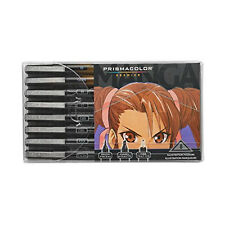 Prismacolor - Premier Manga Illustration Marker Set, 8 Colored Art Markers (1759
