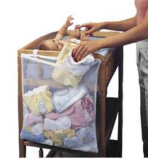 Baby Nursery Cot Bed Diaper Hanging Storage Bag Closet Holder Basket