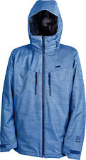 New 2014 Mens Nitro Colony Snowboard Jacket Large Blue