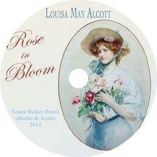 Rose in Bloom, Louisa May Alcott Childrens Audiobook Fiction English on 1 MP3 CD