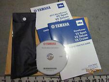 NEW 2014 Yamaha Jet Ski Owners Operators Guide Practice Tips DVD & Tool Kit #950