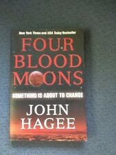 Four Blood Moons Book by John Hagee Jewish Prophecy Christian EUC  Soft Cover
