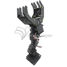 6DOF Robot Mechanical Arm Hand Clamp Claw Manipulator Frame Kit for Arduino DIY