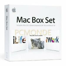 Apple MAC Box Set V. 10.6 Snow Leopard Family Pack basati su Intel Mac-mc210z / A