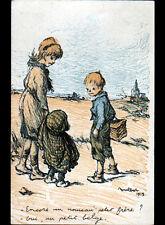 PETIT FRERE BELGE illustré par POULBOT en 1915