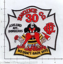 Illinois - Chicago Engine 30 IL Fire Dept Patch
