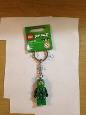LEGO Ninjago Green Ninja - Lloyd ZX Minifigure Keychain - Brand New With Tags