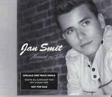 Jan Smit-Niemand Zo Trots Als Wij Promo cd single