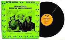 PATSY MONTANA: Out In The Western Country LP CATTLE RECORDS 1984 MONO LP53 NM+