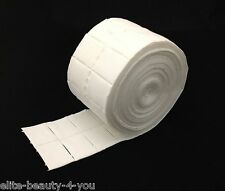 4000 pcs,8 roll,paper pad, nail art,lint free swab gel nail soak off clip beauty