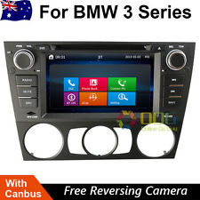 "7"" Car DVD GPS Stereo Navigation Head Unit For BMW M3 E90 E91 E92 Plug and Play"