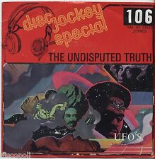 "THE UNDISPUTED TRUTH - Ufo's - VINYL 7"" 45 LP ITALY 1975 VG+ /VG- CONDITION"