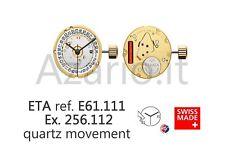 Movimento al quarzo ETA 256.112 movement quartz E61.111 Swiss Made
