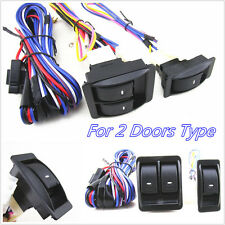 Practical 12V Autos Car Power Door Window Glass Lift Switch Wiring Harness Cable