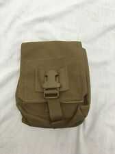 Eagle Industries M60 Mag MOLLE Pouch Coyote FSBE W/Dump Lid and Divider 04/11