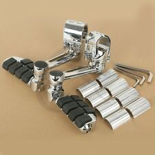 Front Pegs FootPegs Footrest Adjustable For Honda Goldwing GL1800 22mm 30mm 35mm