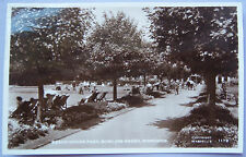 CPA Postcard - UK - Worthing, Beach house park, Bowling green