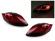 DEPO 2005-08 Porsche Boxster & Cayman 987 LED Red/Smoke Rear Tail Lights Set New