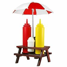 Picnic Bench Condiment Set | Picnic Table Condiment Set - 71/2855