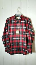 WEATHER PROOF RED AND BLACK PLAID LONG SLEEVE XL SHIRT NEW WITH TAGS
