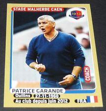 N°102 P. GARANDE STADE MALHERBE CAEN D'ORNANO PANINI FOOTBALL FOOT 2015-2016