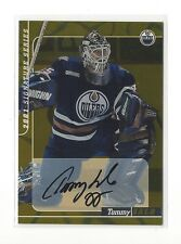 2000-01 BAP SIGNATURE SERIES GOLD TOMMY SALO ON CARD AUTO #67 EDMONTON OILERS