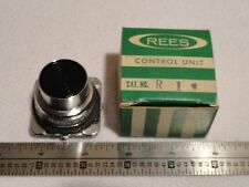 REES R1 CONTROL UNIT PUSH-BUTTON STOP Heavy-Duty BLACK