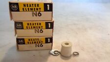 NEW  IN BOX LOT OF 3  ALLEN BRADLEY N6 HEATER ELEMENTS
