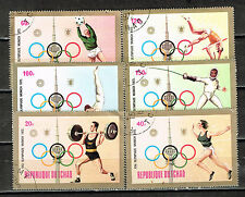 Tchad Sport Munich Olympic Games 1972 stamps
