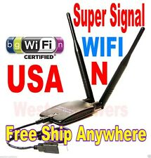 Real Super Range1000mw 1W USB Wireless WiFi N Signal Booster Adapter