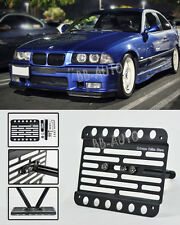 92-99 BMW E36 M3 Front Tow Hook Mount License Plate Relocated Bracket Holder
