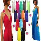 LONG BRIDESMAID PARTY COCKTAIL EVENING PROM COIL WOMENS MAXI DRESS PLUS SIZE