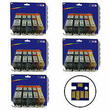 25 non-OEM C525/6 Cartridge for Canon iP4950 iX6250 MG5200 MG6150 MG6250 MX885