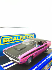 1 32 SCALEXTRIC C3537 DODGE CHALLENGER T/A 340 SIX PACK STREET slot car