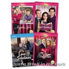 Hallmark 4 Movie Valentine's Day Love & Romance Valentine Box / DVD Set(s) NEW!
