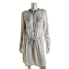 Two by Vince Camuto 0782 Womens Gray Long Sleeves Casual Dress L BHFO