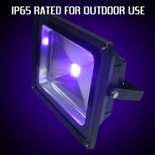 Outdoor UV Blacklight Floodlight 50W power, wide beam, IP65 certified, UK Stock