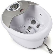 Foot Spa Bath Massager Heat Vibration Infrared Feet Massage Pedicure Therapy Tub