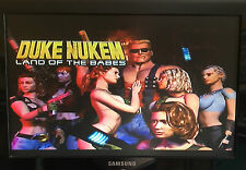 DUKE NUKEM LAND OF THE BABES PLAYSTATION PS1 game