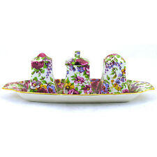 Royal Winton Summertime Ascot 4 Piece Cruet Set
